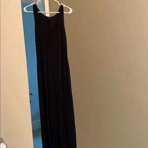 Black Tart Maxi Dress
